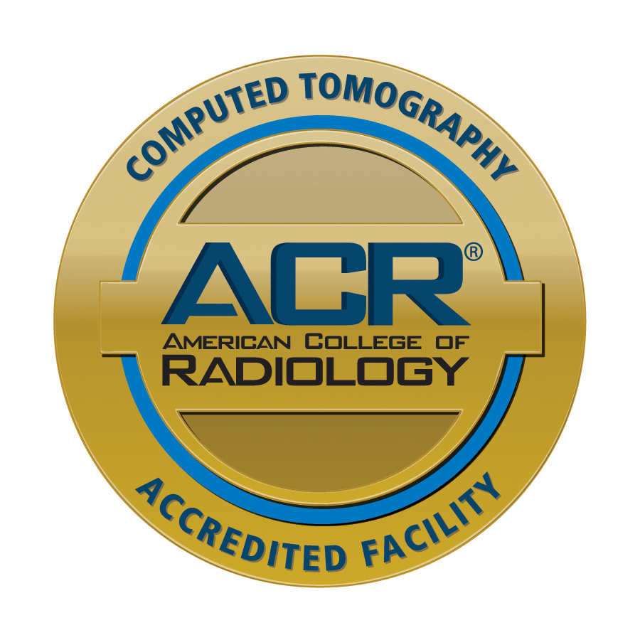 ACR accredited facility in computed tomography