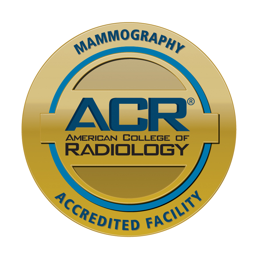 ACR accredited facility in mammography