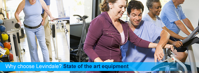 Why choose Levindale? State of the art equipment