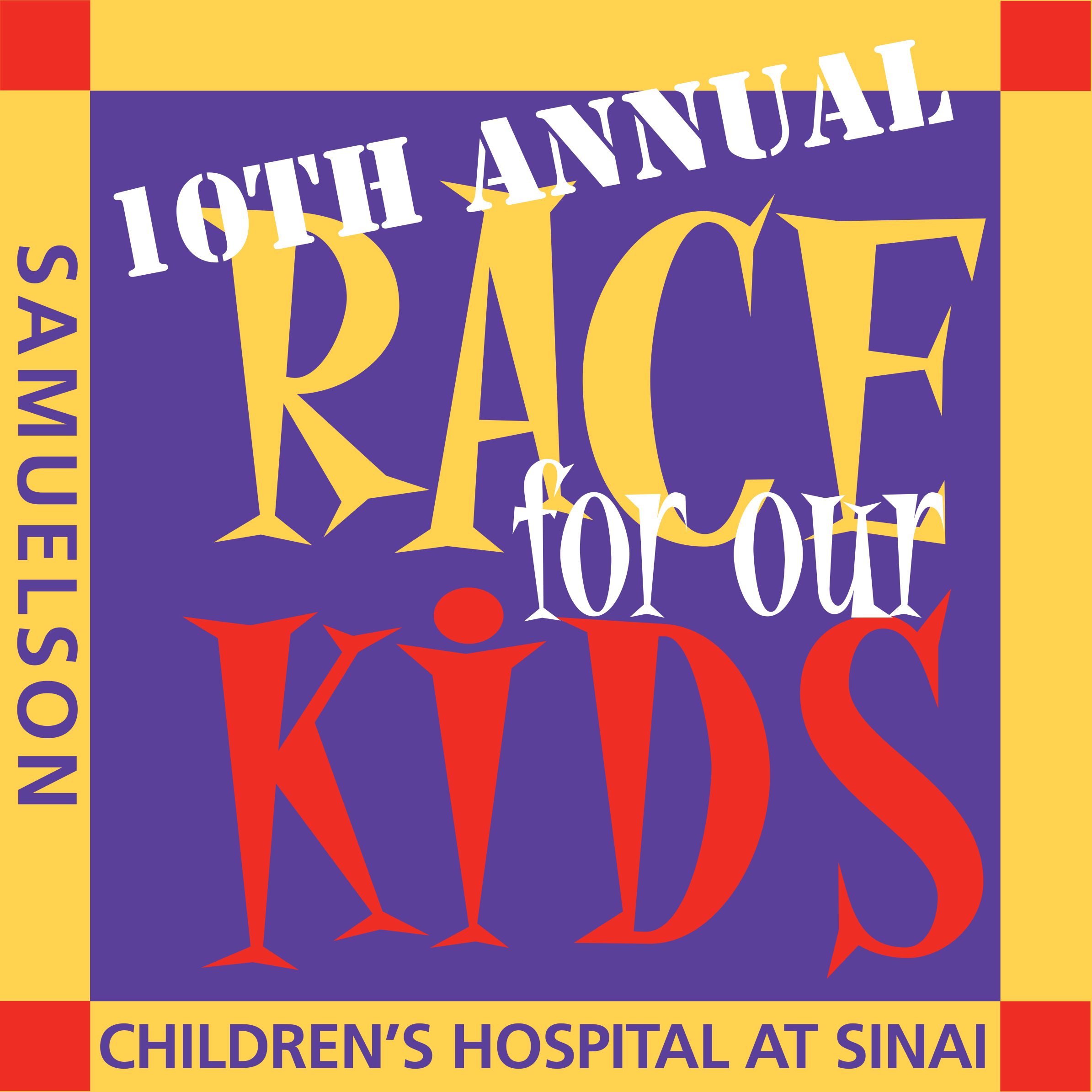 10th Annual Race for Our Kids Logo