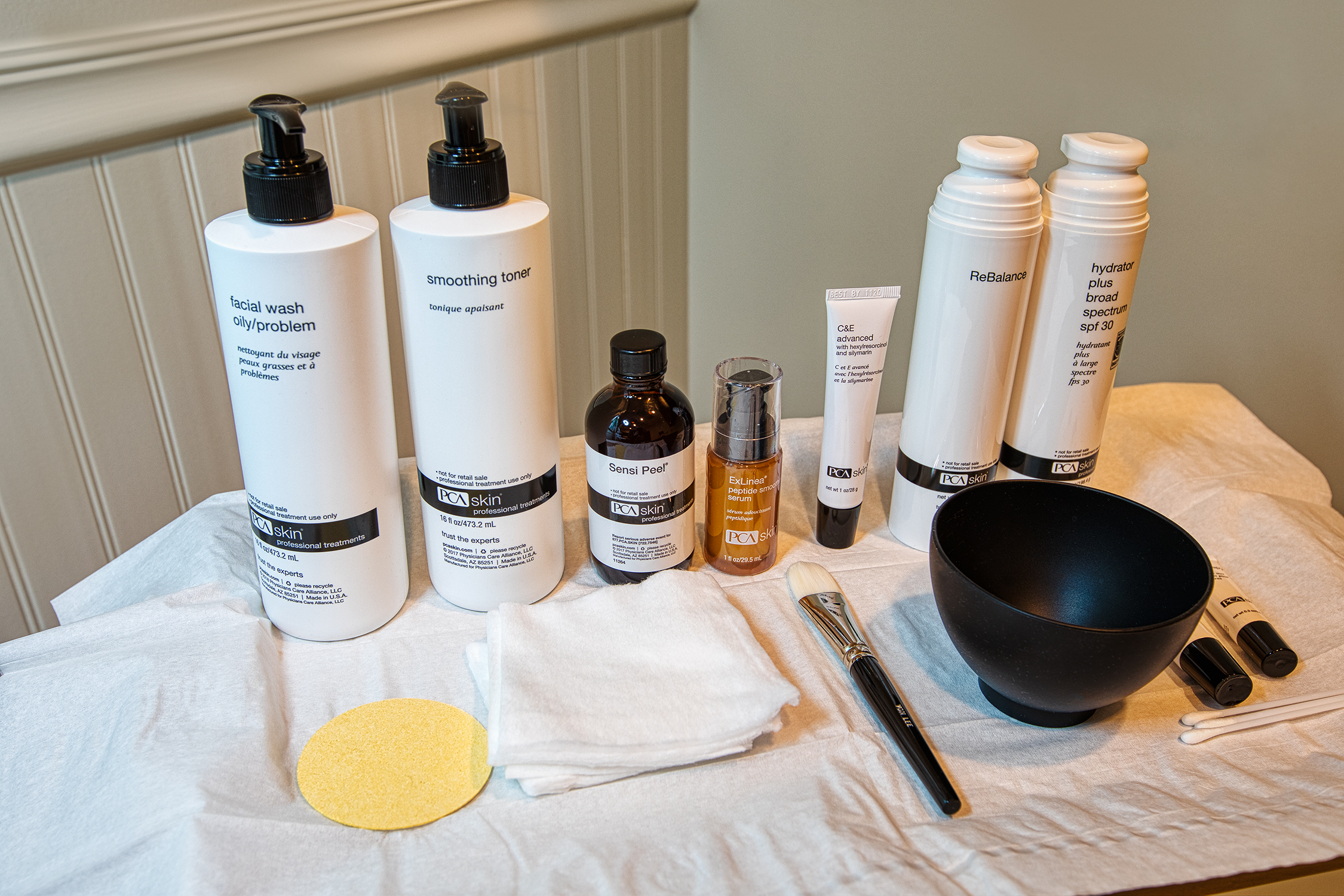 MedSpa Facial Treatment Products Krieger Eye Institute