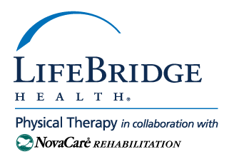 LifeBridge Health Physical Therapy in collaboration with NovaCare Rehabilitation logo