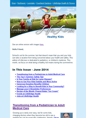 LifeLines - E-Newsletter