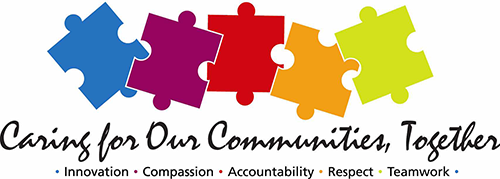 Caring for Our Communities, Together Logo