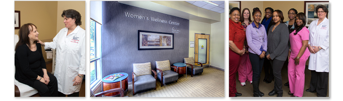 The Women's Wellness Center is led by Michelle Morganti, M.D.