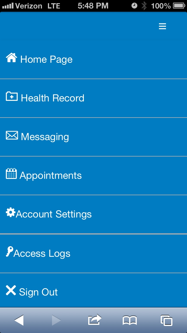 My LifeBridge Health Navigation
