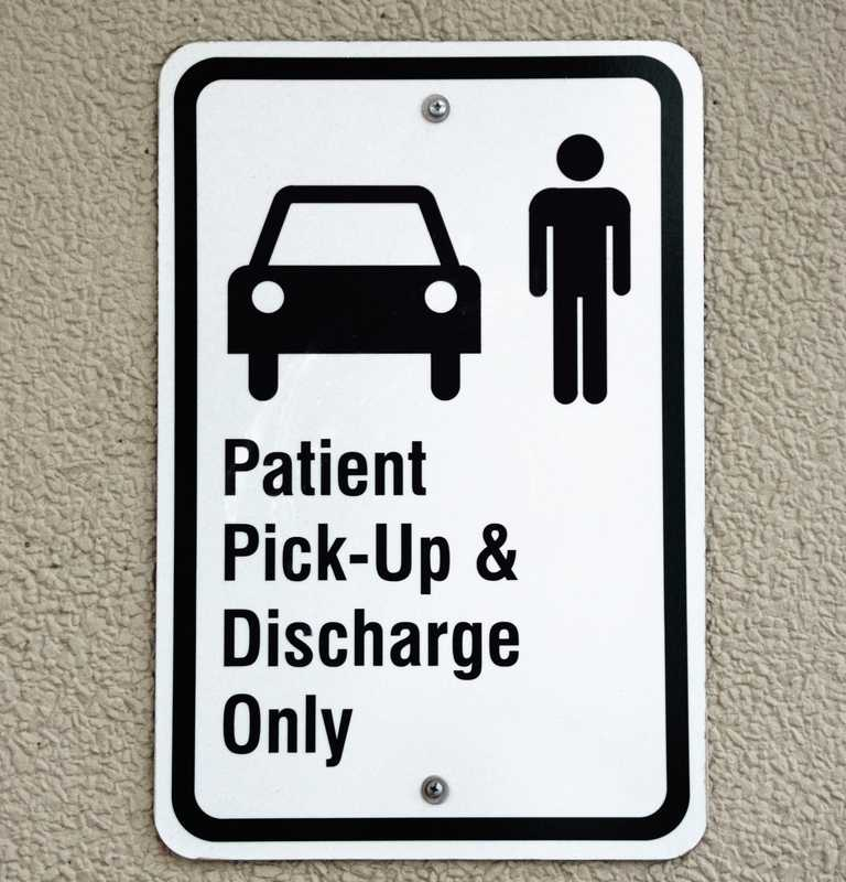 Patient Pick-up and Discharge