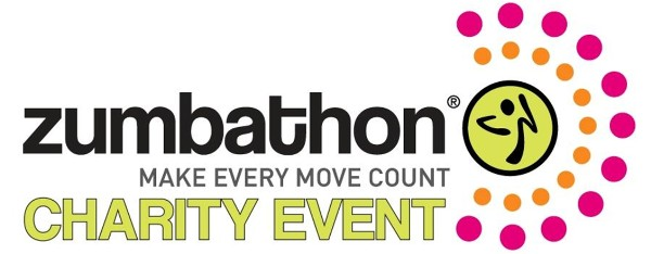 Zumbathon - Make every move count - Charity Event logo