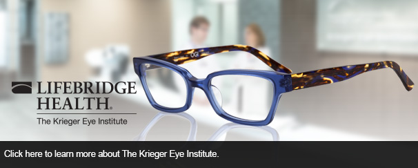 Click here to learn more about The Krieger Eye Institute.