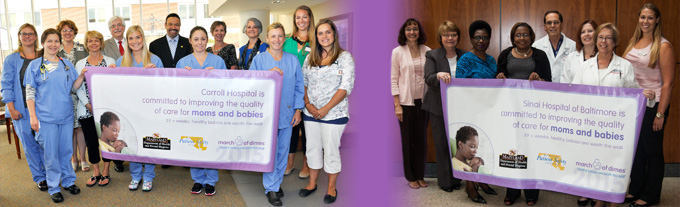 March of Dimes Recognizes Two LifeBridge Health Hospitals for Their Work to Give More Babies a Healthy Start in Life