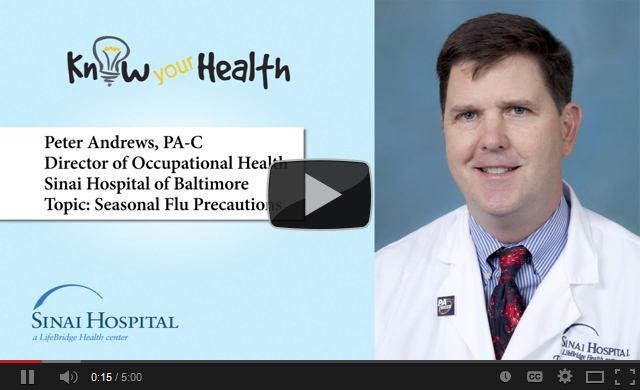Peter Andrews, PA-C, Discusses Seasonal Flu Precautions
