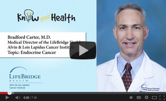 Bradford Carter, M.D., Discusses Endocrine Cancer