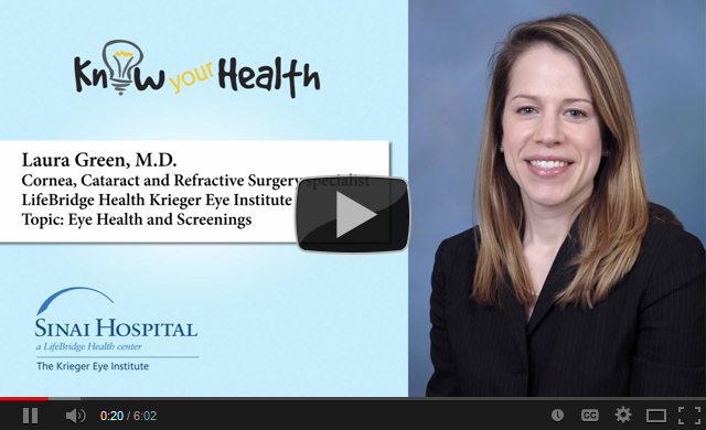 Laura K. Green, M.D., Discusses Eye Health and Screenings