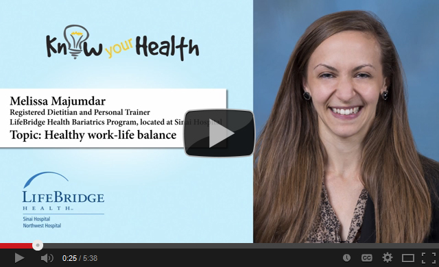 Melissa Majumdar Discusses Healthy Work-Life Balance