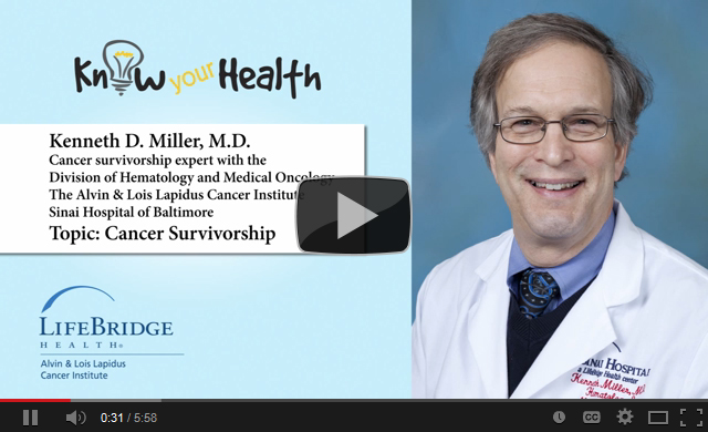 Kenneth D. Miller, M.D., Discusses Cancer Survivorship