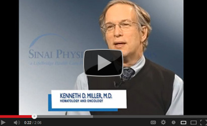 Kenneth D. Miller, M.D., Hematology and Oncology