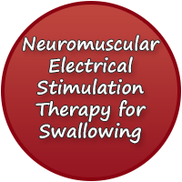Neuromuscular Electrical Stimulation Therapy for Swallowing