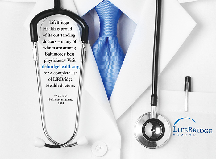 LifeBridge Health is proud of its outstanding doctors - many of whom are among Baltimre's best physicians.