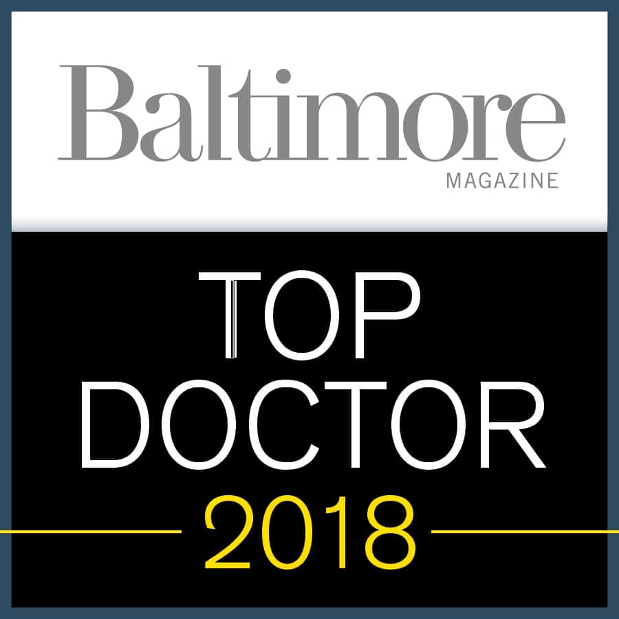 Top Doctors Baltimore 2018