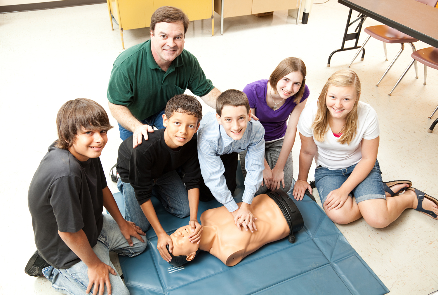 Child CPR for family and friends