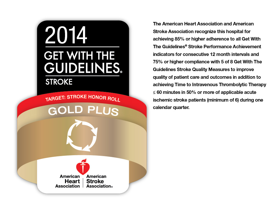 2014 Get with the Guidelines Stroke award