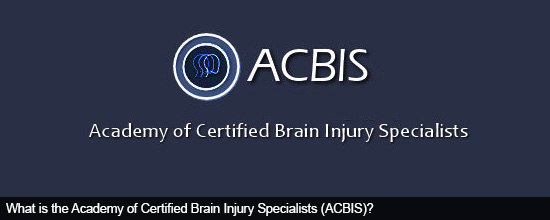What is the Academy of Certified Brain Injury Specialists (ACBIS)?