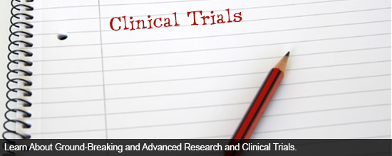 Learn About Ground-Breaking and Advanced Research and Clinical Trials Conducted at our Institute: