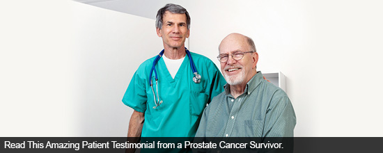 Read This Amazing Patient Testimonial from a Prostate Cancer Survivor