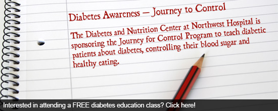 Interested in attending a FREE diabetes education class? Click here!