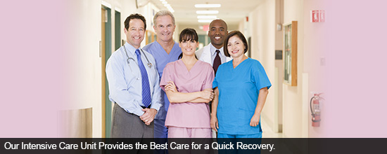 Our Intensive Care Unit Provides the Best Care for a Quick Recovery