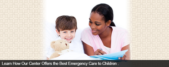 Learn How Our Center Offers the Best Emergency Care to Children