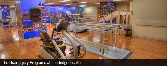 The Brain Injury Programs at LifeBridge Health