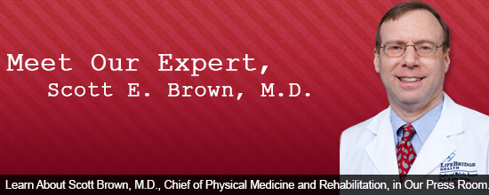 Learn About Scott Brown, M.D., Chief of Physical Medicine and Rehabilitation, in Our Press Room