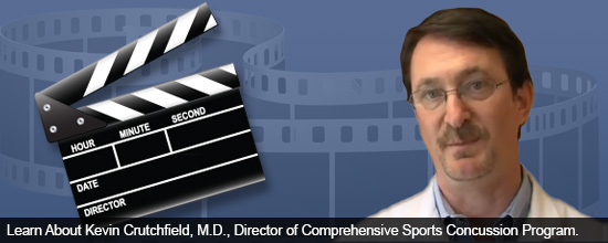 Learn About Kevin Crutchfield, M.D., Director of Comprehensive Sports Concussion Program