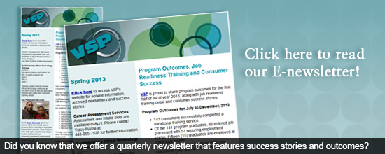 Did you know that we offer a quarterly newsletter that features success and outcomes?