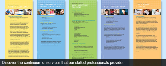 Discover the continuum of services that our skilled professionals provide.