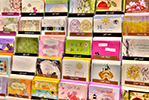 Greeting cards at the Northwest Hospital Gift Shop