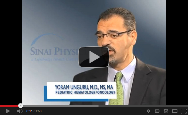 Yoram T. Unguru, M.D., MS, MA, Pediatric Hematology/Oncology