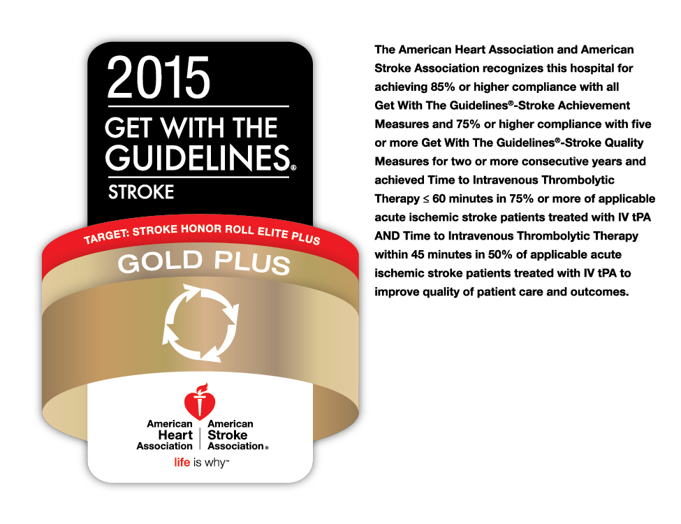 2015 Get with the Guidelines Stroke award