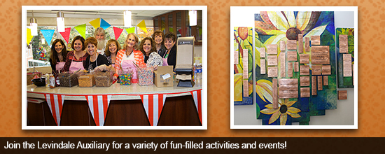 Join the Levindale Auxiliary for a variety of fun-filled activities and events!
