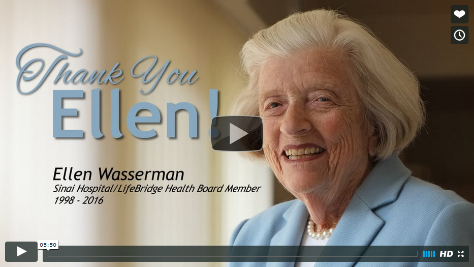 Ellen Wasserman Recognition Video