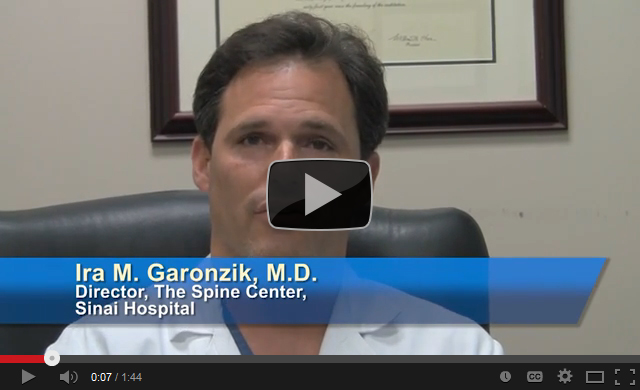 The Spine Center at Sinai Hospital