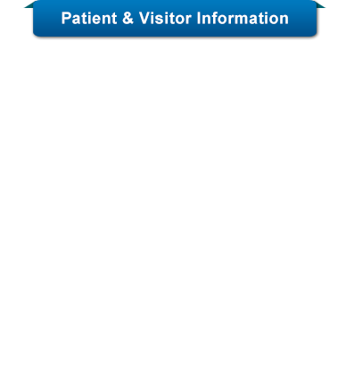 Cancer Institute Patient &amp; Visitor Informaiton