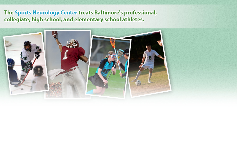 The Sports Neurology Center treats Baltimore's professional, collegiate, high school, and elementary school athletes.