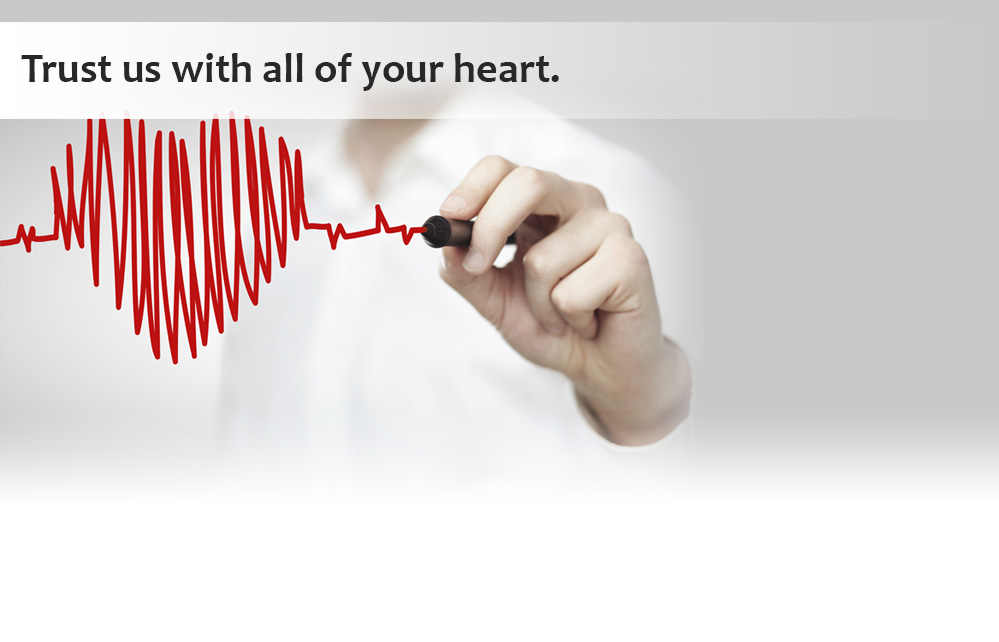 Trust us with all your heart. The LifeBridge Health Cardiovascular Institute provides comprehensive, state-of-the-art care.