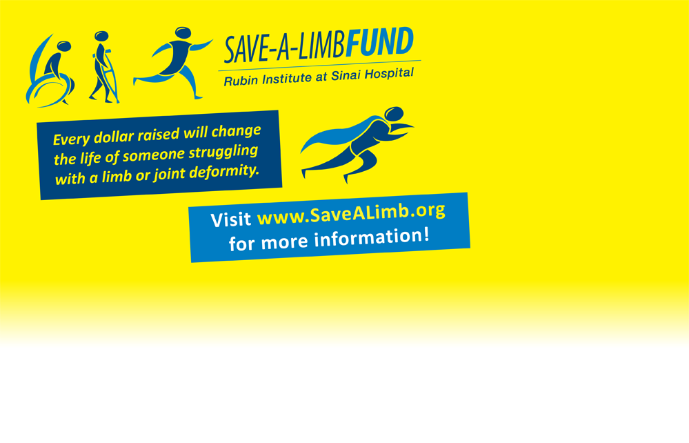 Every dollar raised will change the life of someone struggling with a limb or joint deformity. Visit www.SaveALimb.org for more information!