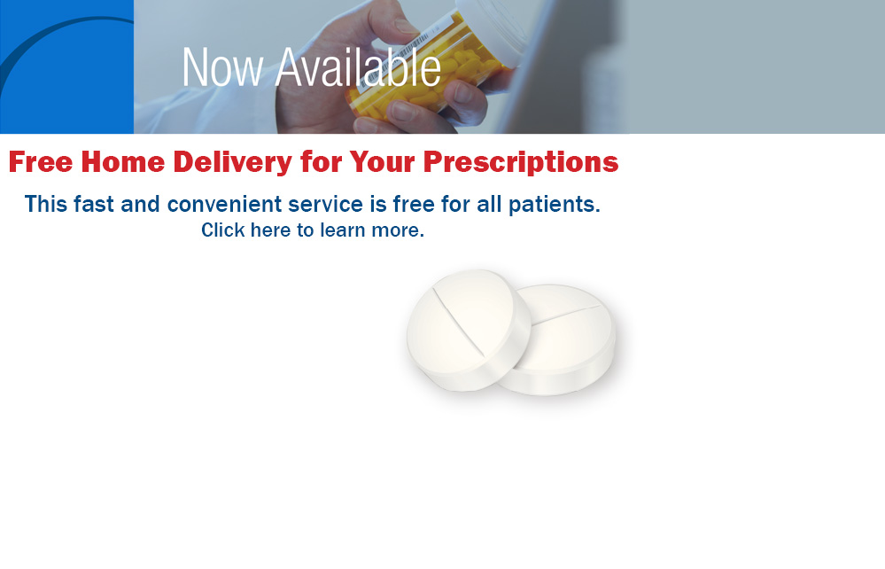 Free Home Delivery for Your Prescriptions