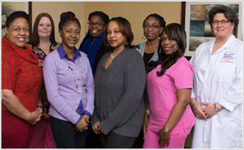 Staff at the Women's Wellness Center