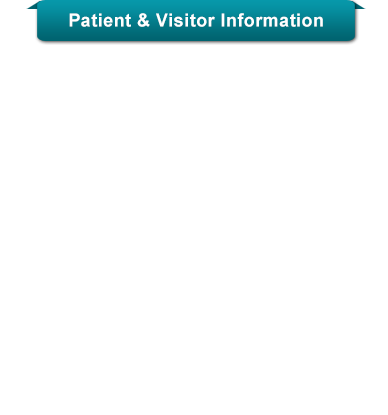 Sinai Patient &amp; Visitor Informaiton