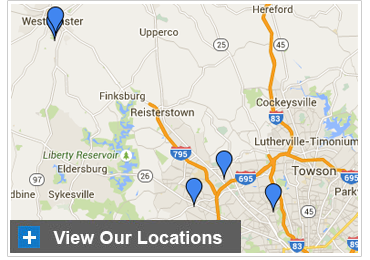 LifeBridge Health Sleep Centers Map